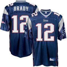Tom Brady Equipment Authentic Jersey