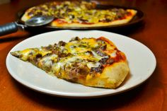 Philly Cheesesteak Pizza Picture