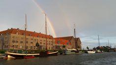 #Hoorn #Oostereiland #rainbow #doublerainbow