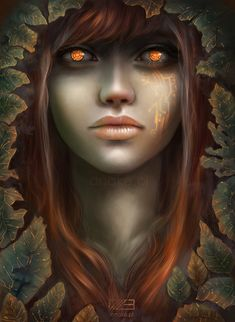 ancient, before we 'invented' technolog and circuitry.   GAIA by anako-art.deviantart.com on @deviantART