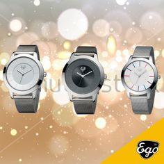 Está na hora de fazer escolhas #egowatches #gofightyourself #peace #choice #silver #time