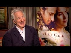 Alan Rickman Talks A LITTLE CHAOS, Getting Back Behind the Lens and More - YouTube
