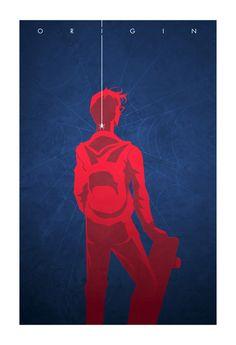 Superhero ORIGIN Poster Art Series