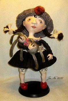 JuNa Art - Куклы и Мишки Юлии Назаренко: Мастер класс/ Master class