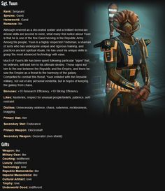 SWTOR. Trooper Companion: Sgt. Yuun