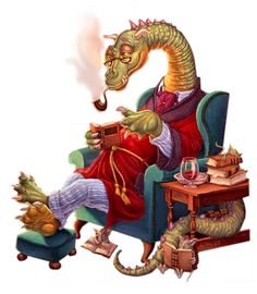 A reading dragon - doesn't look so scary, does he? Fairy Dragon, Fantasy, Fantasy Art, Mystical Creatures, Christmas Dragon, Cute Art, Whimsical Art, Art, Dragon Pictures