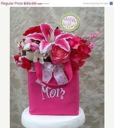 Mothers Day Sale Silk Floral Arrangement by SilkFloralsbyCandice, $24.00