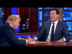 Y.! I want2 KNW>TRUMP won't TALK ABT #PBO BirthCert. Stephen Colbert Shuts Down Donald Trump on Birtherism