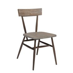 INK+IVY Café Dark Grey/ Bronze Dining Chair (Set of 2)