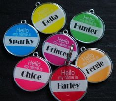 Hello My Name Is Pet ID Tag ** You can find more details by visiting the image link. #DogIDTags