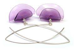 JillSymons.com Lampwork Tandem Wisteria Earrings - $50