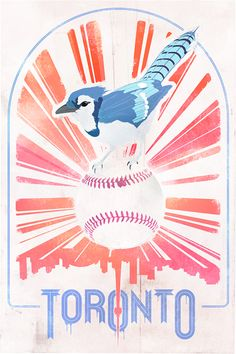 Toronto Blue Jays - hope you fly circles round the Yankees Aug We look forward to our birds eye view. Canadian Identity, Toronto Houses, Nostalgia, American Games, Canadian Art, Toronto Blue Jays, Vintage Travel Posters, Cute Crafts, Coloring Pages
