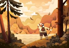 """Check out this @Behance project: """"Illustration 2016 (part 2)"""" https://www.behance.net/gallery/44278055/Illustration-2016-(part-2)"""