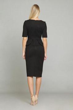 SA SANDRA ANGELOZZI   Femmedecarriere Dresses For Sale, Dresses For Work, Spring Collection, Timeless Design, Luxury Branding, Peplum Dress, Blouse, Unique, Skirts
