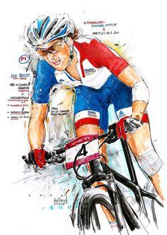 Olympia, Mtb, Cycling Art, France, Fictional Characters, Sunset, Biking, Road Cycling, Sunsets