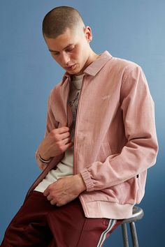 Slide View: 1: Stussy Bleached Out Corduroy Jacket