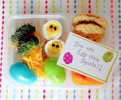 Easter Lunch Idea and free printable www.foodtasticmom.com
