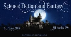 #SciFi and #Fantasy books for only 99c THIS WEEKEND 2-3 June