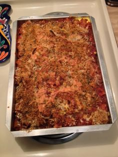 In-House Cook: Beefy Rigatoni Pasta Bake The last two weeks - and...