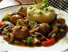 Kung Pao Chicken, Food Videos, Stuffed Mushrooms, Ethnic Recipes, Stuff Mushrooms