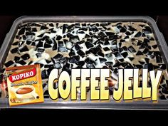 COFFEE JELLY with KOPIKO BROWN | MYSTYLE | SIMPLENG LUTONG BAHAY | CHERYL MARQUEZ.. - YouTube Condensed Milk Desserts, Coffee Jelly, Real Cooking, Floating Island, Desert Recipes, Asian Recipes, Deserts, Ice Cream, Cleaning