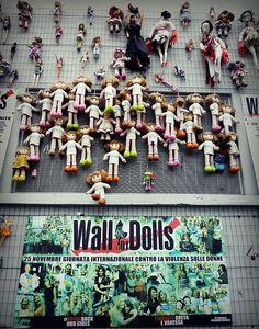 Wall of Dolls, via De Amicis