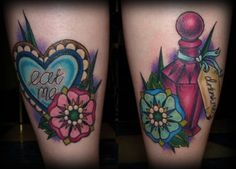 Feelings are pink: Tattoo Inspiration