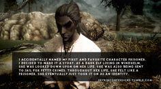 Elder Scrolls V : Skyrim Fan Art: Skyrim Confessions