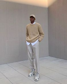 French Fashion Tips .French Fashion Tips Normcore Fashion, Streetwear Fashion, China Fashion, Boy Fashion, Retro Fashion, Sweater Vest Outfit, Sneakers Outfit Men, Scandinavian Fashion, Estilo Retro