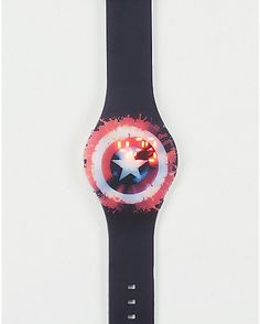 Shield Captain America LED Watch - Spencer's