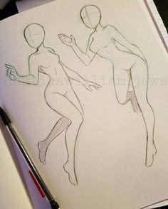 Tipos de poses de anime para se inspirar a desenhar