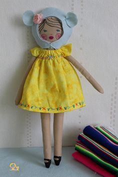 Mexico look pour la poupée à coudre de Nun-Studio