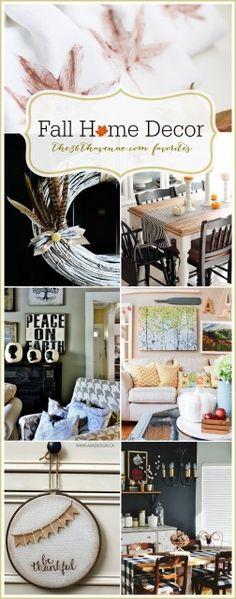 Home Decor DIY Fall Ideas