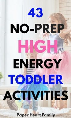 44 High Energy Toddler Activities (To Tire Your Toddler Out Before Bedtime) Active Toddler Activities- This is an awesome list of no-prep toddler activities and games. Full of fun, indoor physical activities for your 2 or 3 year old. 4 Year Old Activities, Indoor Activities For Toddlers, Toddler Learning Activities, Infant Activities, Preschool Activities, Physical Activities For Preschoolers, Outdoor Activities, 3 Year Old Preschool, Nanny Activities