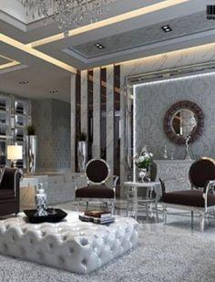 Modern Art Deco inspired home interior ...BTW, check this out!!!! : http://artcaffeine.imobileappsys.com