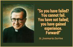 Forward! - Saint JoseMaria Escriva