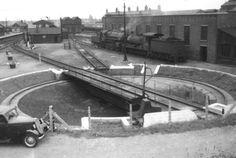 Melton Constable turntable c1955 British Rail, Steam Engine, Steam Locomotive, Norfolk, Sheds, Turntable, Trains, Diesel, Yard