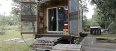 Recycled Tiny House - Exterior
