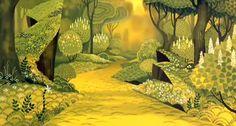 Last Unicorn background #background_art #animation