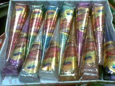 Golecha multi color glitter Henna 12 Cones paste body art temporary glitter ink #Coloredglitter
