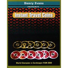 Instant Travel Coins (DVD and Gimmicks) by Henry Evans - Trick