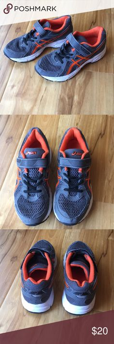 Asics Boy Size 1 Youth Little Boy EUC. Make offer. Lots if life left. See pics for any signs of wear (not much). Asics Shoes Sneakers