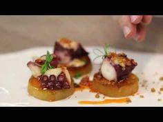 Pulpo a baja temperatura o a según nuestro chef corporativo Enrique Fleischmann Octopus Recipes, Frozen Greek Yogurt, Sushi, Appetizers, Make It Yourself, Dishes, Chef, Breakfast, Ethnic Recipes