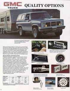 Click Image below to Enlarge 1986 GMC Truck Click Image below to Enlarge custom trucks 1983 GMC Truck Ad Jimmy Jimmy Trucks by AdVintageCom custom trucks Chevrolet 4x4, Chevrolet Blazer, Chevy 4x4, Chevy Pickups, Gm Trucks, Chevy Trucks, 1985 Chevy Truck, Bronco Truck, Ford Bronco
