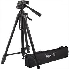 Ravelli Lightweight Aluminum Tripod, Includes Carry Bag and Universal Smartphone Mount Black Friday Camera, Camera Tripod, Nikon Coolpix, Camera Accessories, Accessories Store, Best Camera, Video Photography, Camera Photography, Camcorder