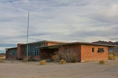 abandoned school house in eagle mines