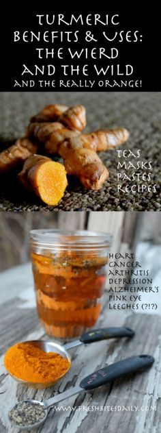 Turmeric Benefits, Uses: The weird and the wild and the really orange...