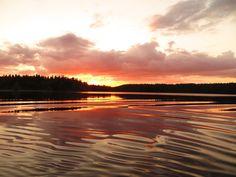 Heinäkuun 14 puoliväli, Tyyniä öitä.  #liesjärvi #kansallispuisto #nationalpark #korteniemi #erärenki #retket