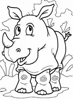 Dibujos para Colorear. Dibujos para Pintar. Dibujos para imprimir y colorear online. Animales 239