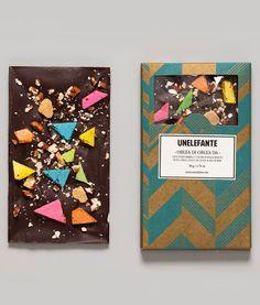 OBLEA DI OBLEA 65% cacao Santander con incrustaciones de dulce de leche, nuez, oblea y sal de mar!